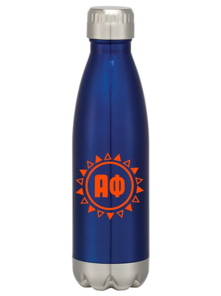 Alpha Phi Sun Triangles Swig Bottle