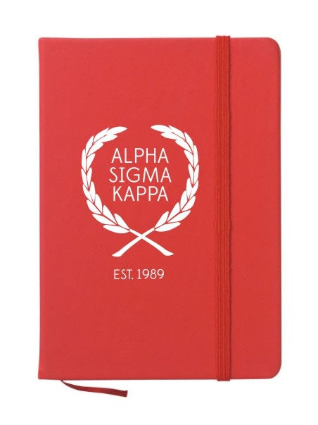 Alpha Sigma Kappa Laurel Notebook