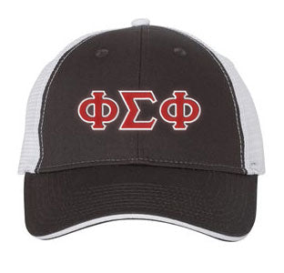 Phi Sigma Phi Greek Trucker Cap