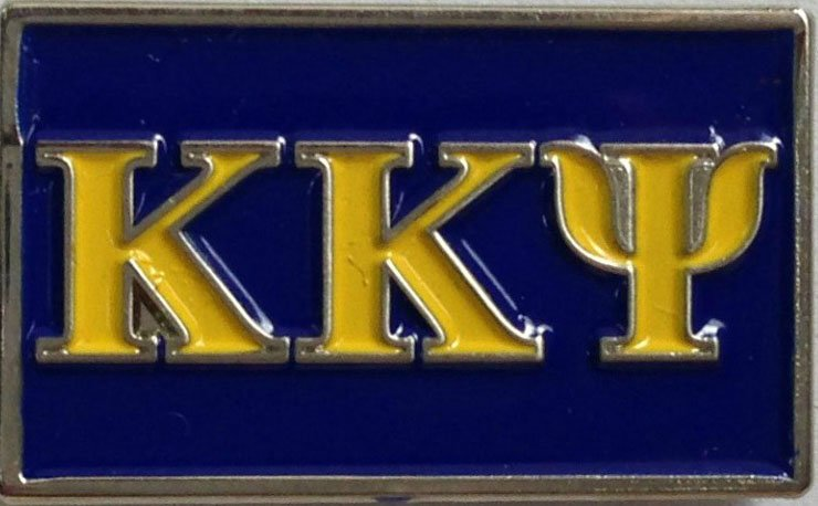 Kappa Kappa Psi Fraternity Flag Pin