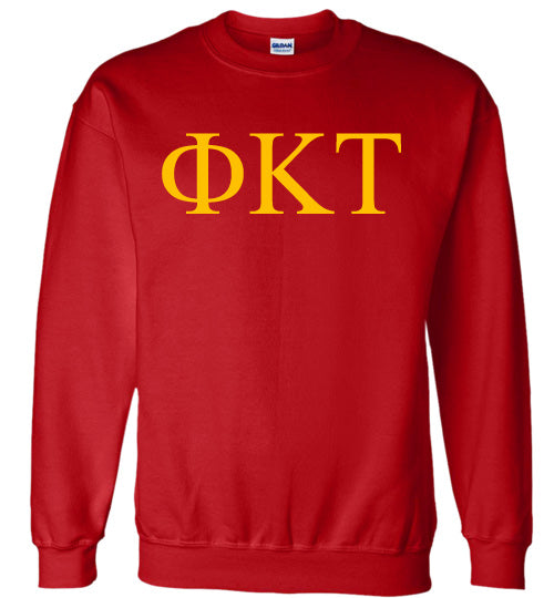 Phi Kappa Tau World Famous Lettered Crewneck Sweatshirt