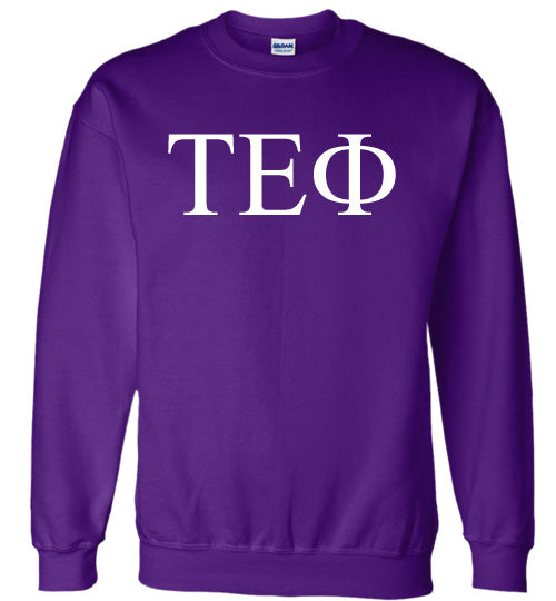 Tau Epsilon Phi World Famous Lettered Crewneck Sweatshirt