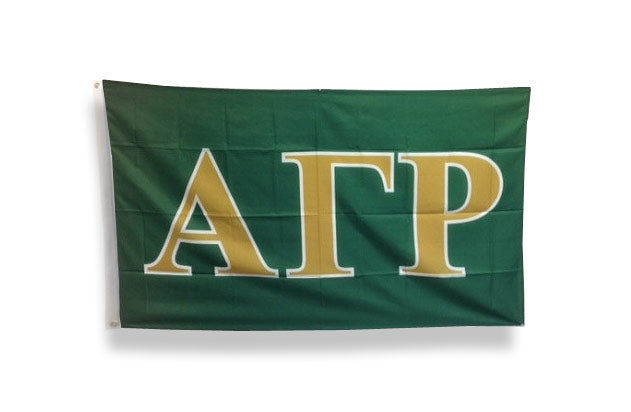 Alpha Gamma Rho Big Flag