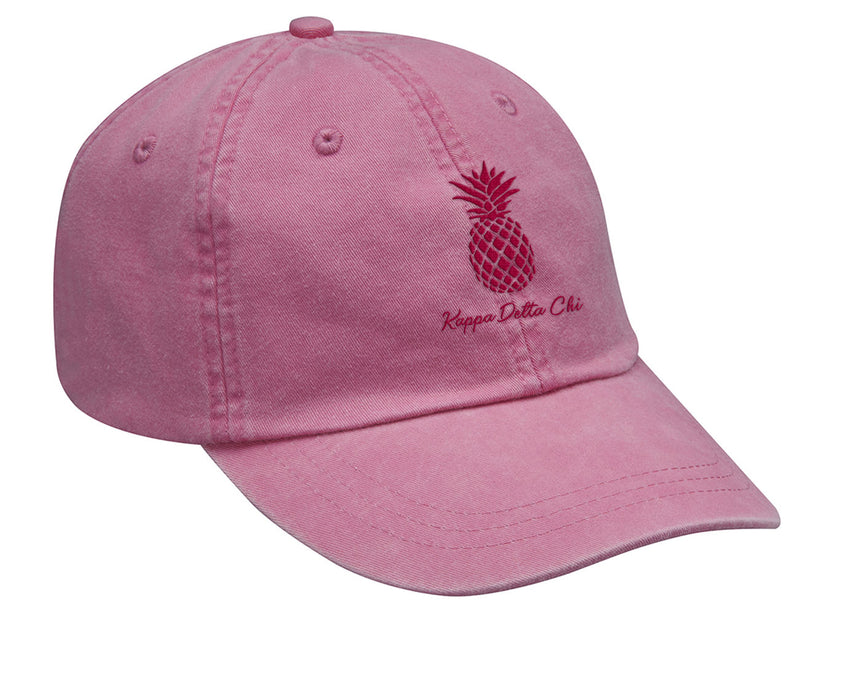 Kappa Delta Chi Pineapple Embroidered Hat