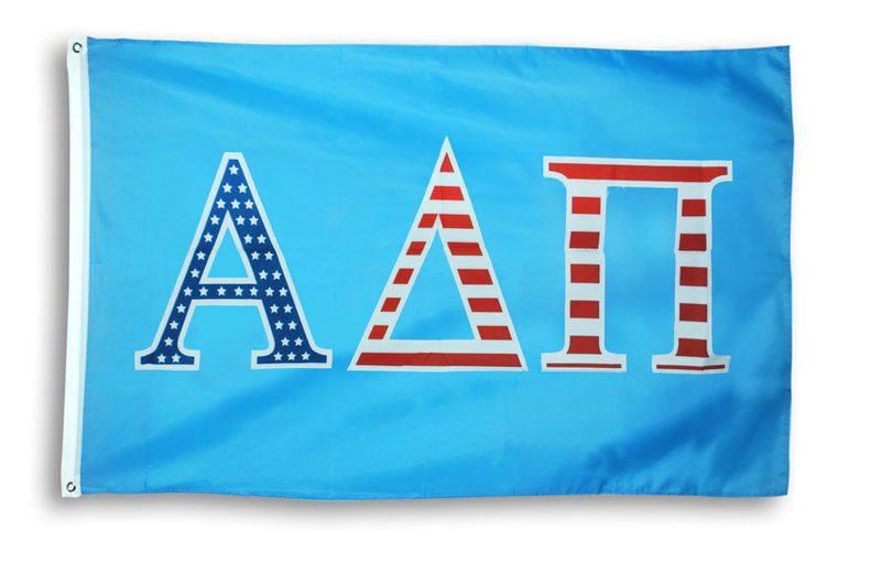Alpha Delta Pi Patriotic Flag