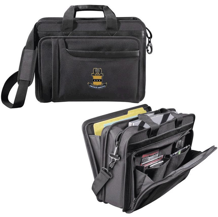 Acacia Fraternity Crest Briefcase