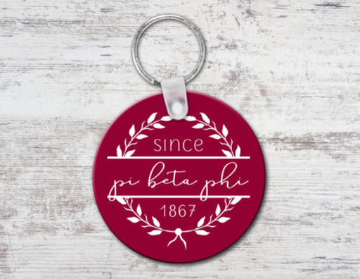 Pi Beta Phi Since Established Keyring