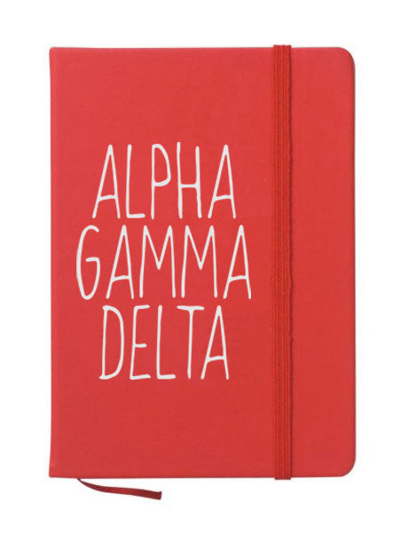 Alpha Gamam Delta Mountain Notebook