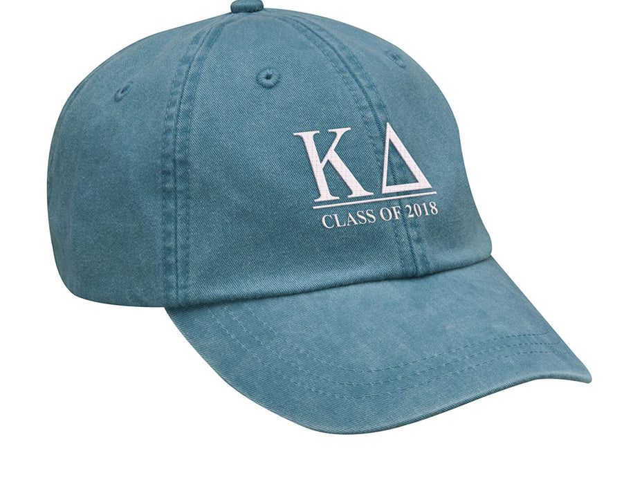 Kappa Delta Embroidered Hat with Custom Text