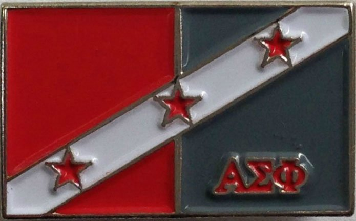 Alpha Sigma Phi Fraternity Flag Pin