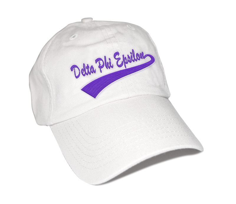 Delta Phi Epsilon New Tail Baseball Hat