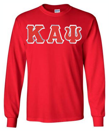 Kappa Alpha Psi Long Sleeve Greek Lettered Tee