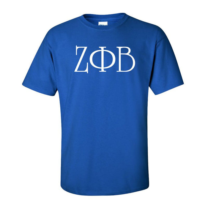 Zeta Phi Beta University Letter T-Shirt