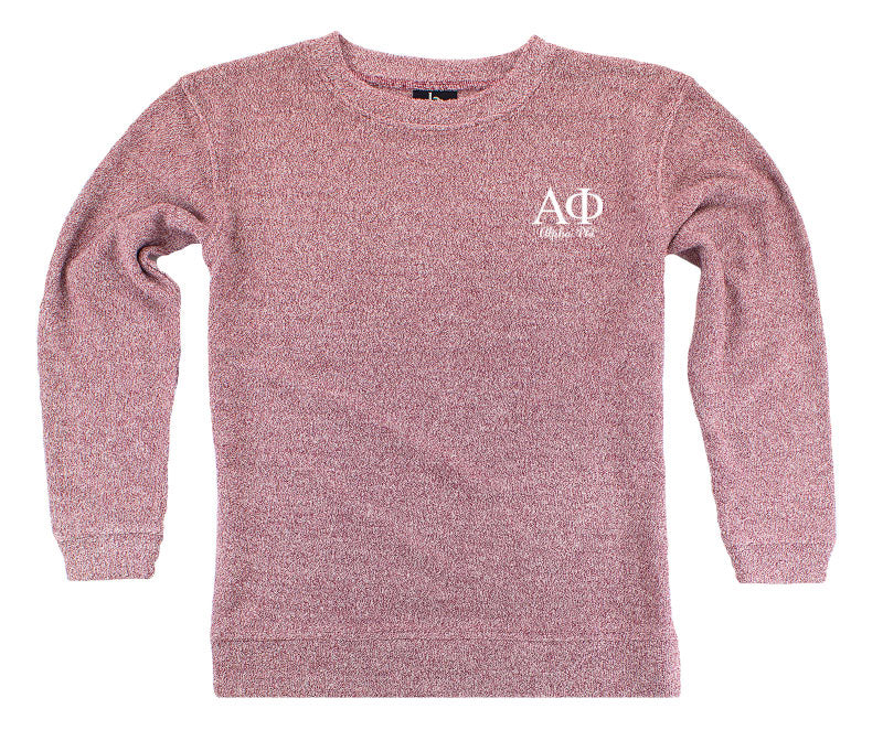 Alpha Phi Lettered Cozy Sweater