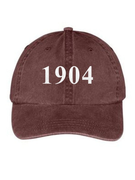 Alpha Gamma Delta Year Established Embroidered Hat