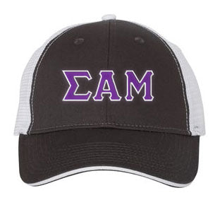 Sigma Alpha Mu Greek Trucker Cap