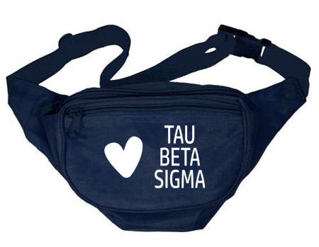 Tau Beta Sigma Heart Fanny Pack