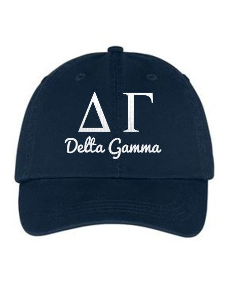 Delta Gamma Collegiate Curves Hat