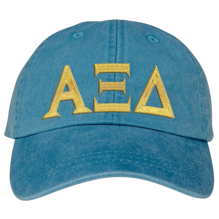 Alpha Xi Delta Greek Letter Embroidered Hat