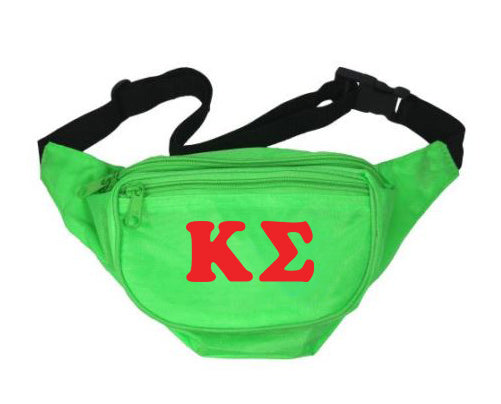 Kappa Sigma Fanny Pack Letters Layered Fanny Pack