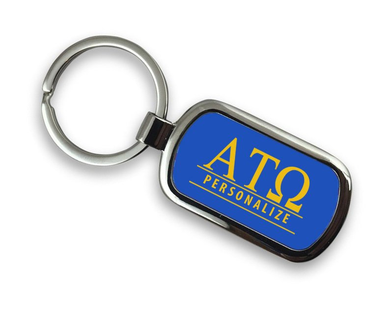 Alpha Tau Omega Chrome Key Chain