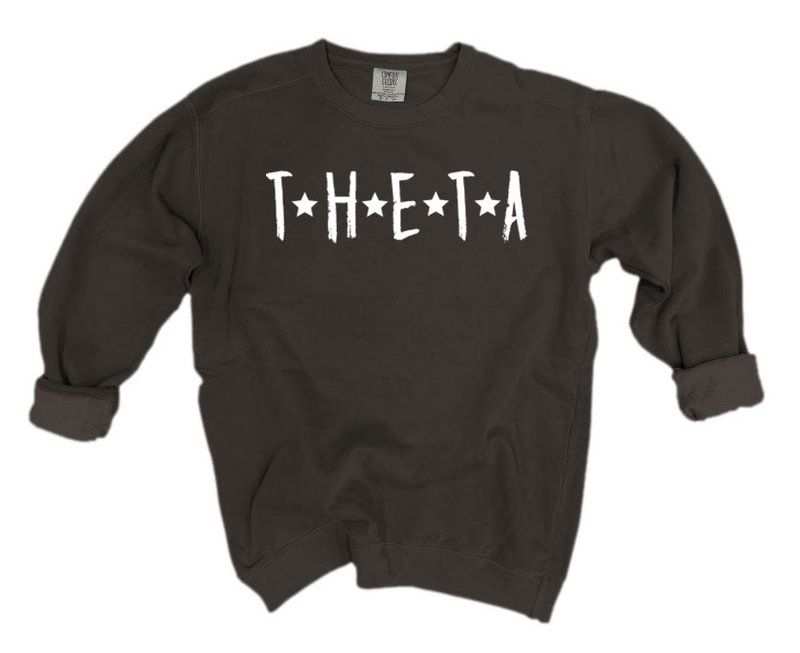 Kappa Alpha Theta Comfort Colors Starry Nickname Sorority Sweatshirt