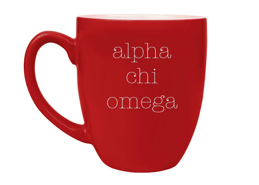 Sorority Type Bistro Mug
