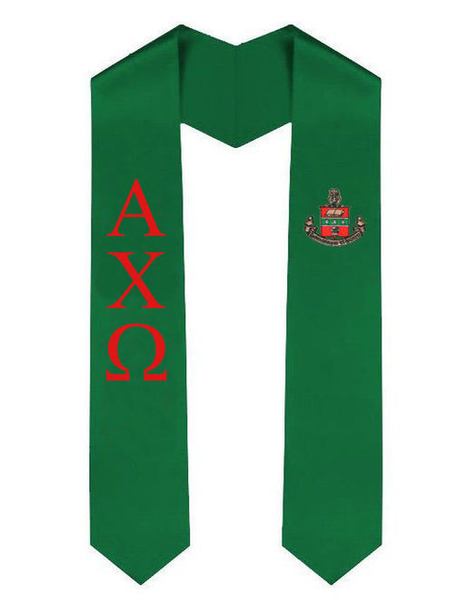 Alpha Chi Omega Simple Sash Stole