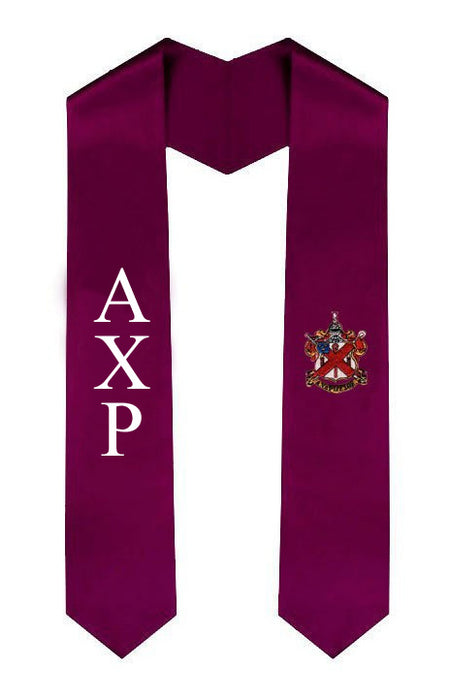 Alpha Chi Rho Simple Sash Stole Alpha Chi rho Simple Sash Stole