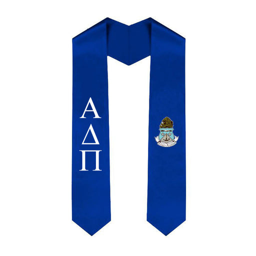 Alpha Delta Pi Simple Sash Stole