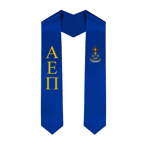 Alpha Epsilon Pi Simple Sash Stole