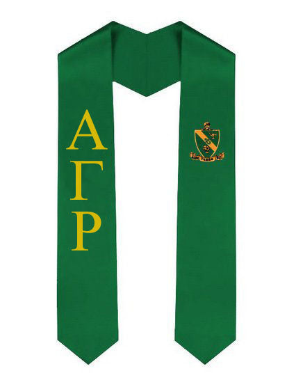 Alpha Gamma Rho Simple Sash Stole Alpha Gamma rho Simple Sash Stole