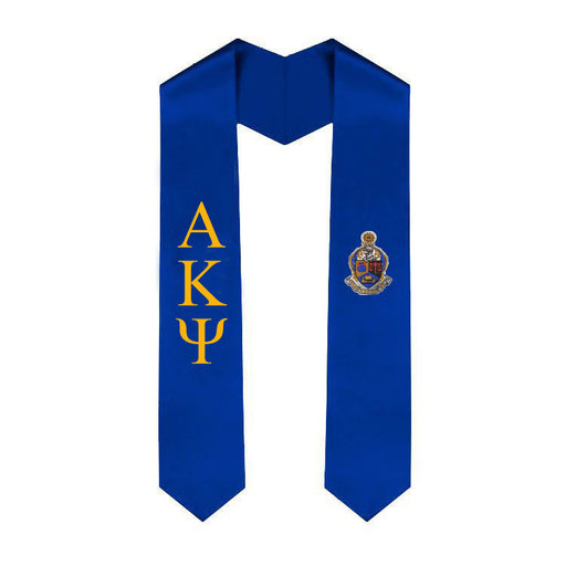 Alpha Kappa Psi Simple Sash Stole
