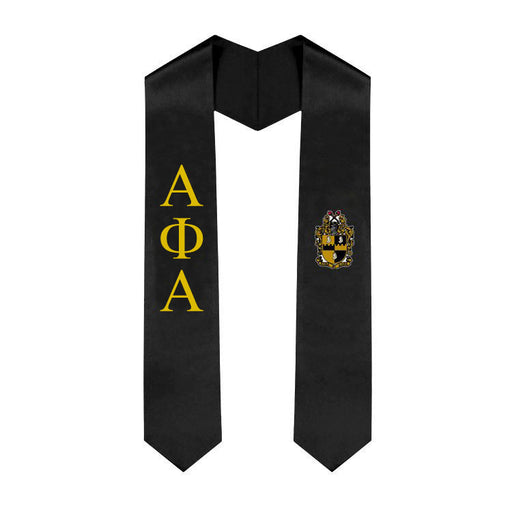 Alpha Phi Alpha Simple Sash Stole
