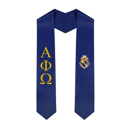 Alpha Phi Omega Simple Sash Stole