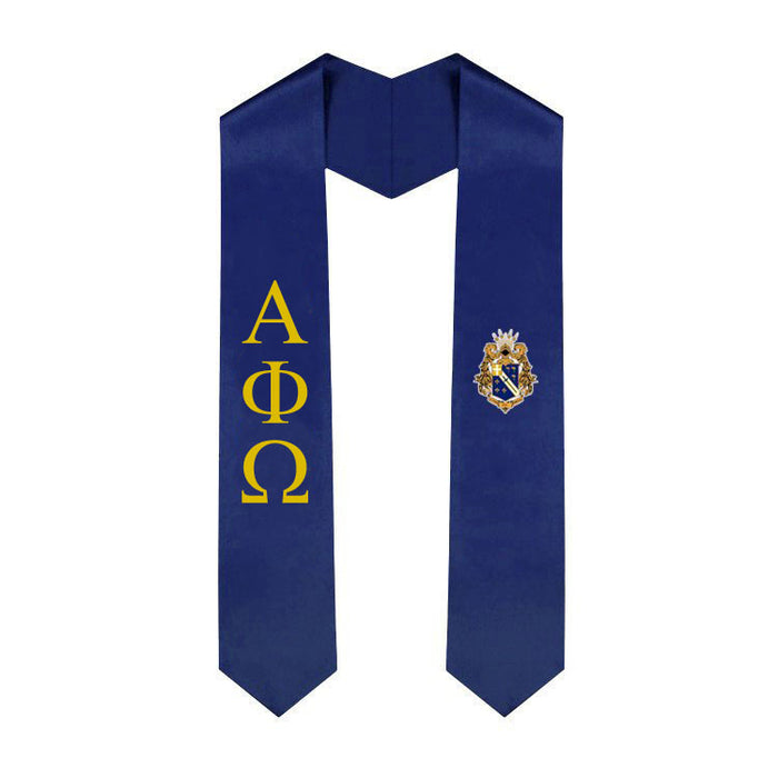 Alpha Phi Omega Simple Sash Stole Alpha Phi Omega Simple Sash Stole