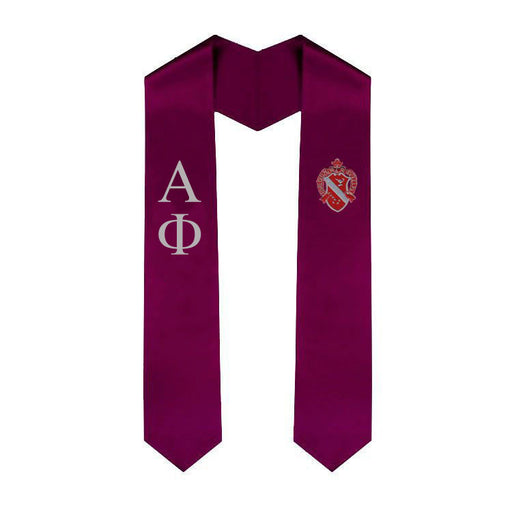 Alpha Phi Simple Sash Stole