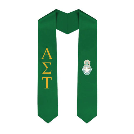 Alpha Sigma Tau Simple Sash Stole