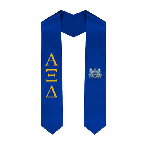 Alpha Xi Delta Simple Sash Stole
