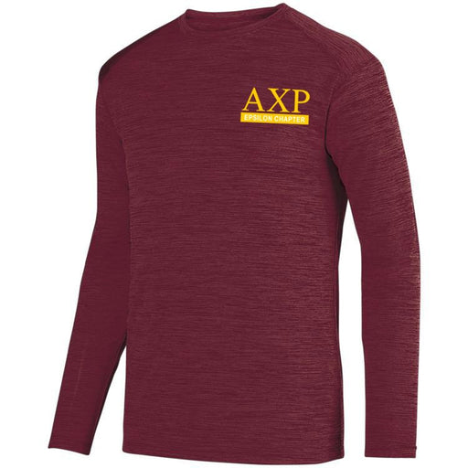 Alpha Chi Rho $20 World Famous Dry Fit Tonal Long Sleeve Tee