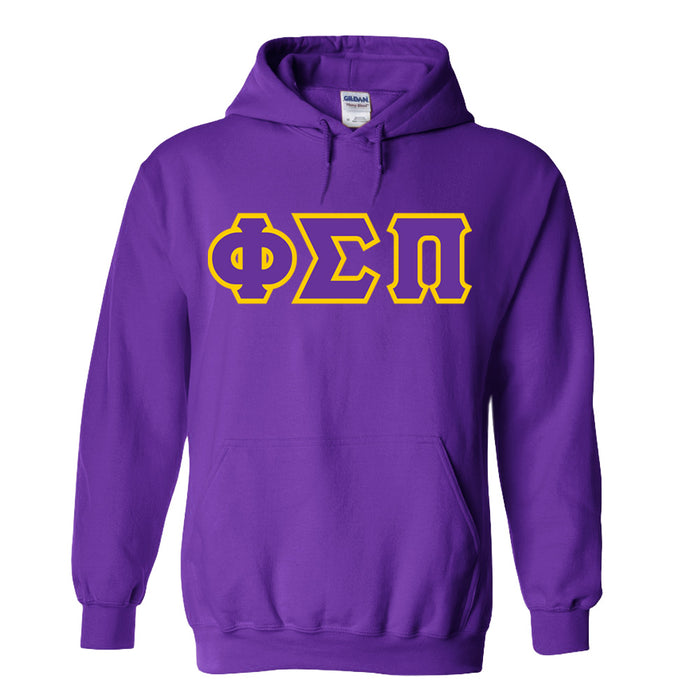 Phi Sigma Pi Lettered Hoodie
