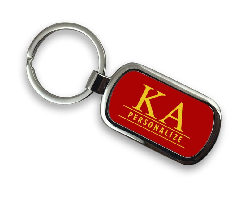 Kappa Alpha Chrome Key Chain