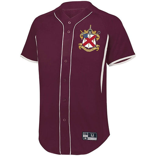 Alpha Chi Rho 7 Full Button Baseball Jersey