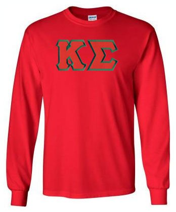 Kappa Sigma Long Sleeve Greek Lettered Tee