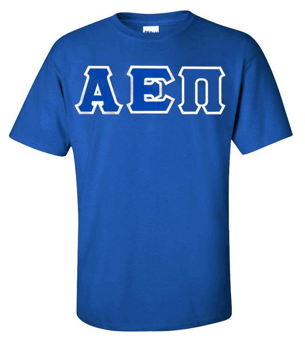 Alpha Epsilon Pi Lettered T Shirt
