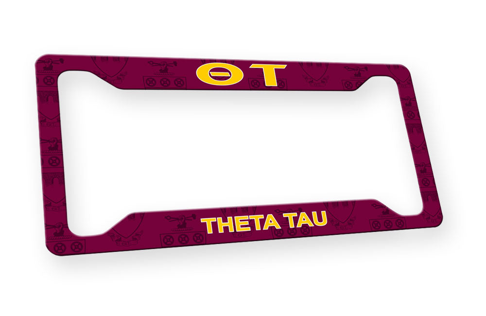 Theta Tau New License Plate Frame