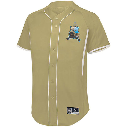 Phi Kappa Sigma 7 Full Button Baseball Jersey