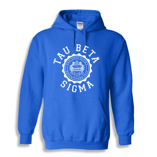Tau Beta Sigma World Famous Seal Crest Hoodie