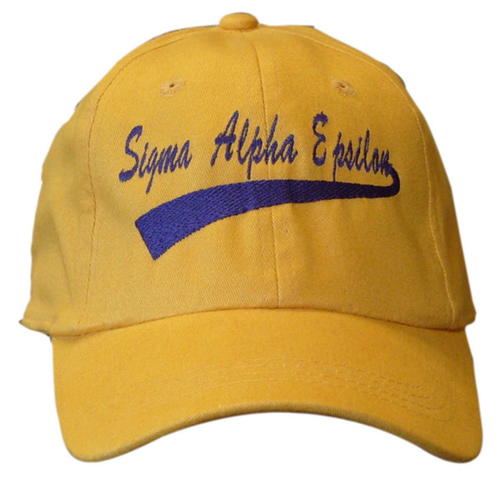 New Sigma Alpha Epsilon 1031 New Tail Baseball Hat