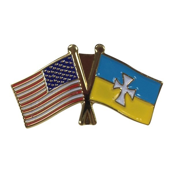 Sigma Chi USA / Fraternity Flag Pin